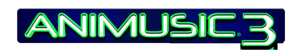 Animusic 3 Logo Design Prototype: