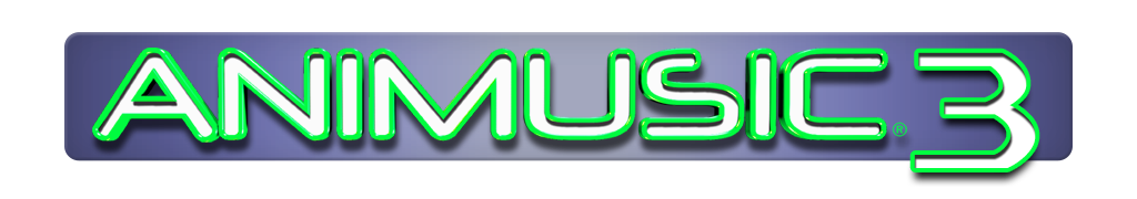 Animusic 3 Logo Design Prototype: