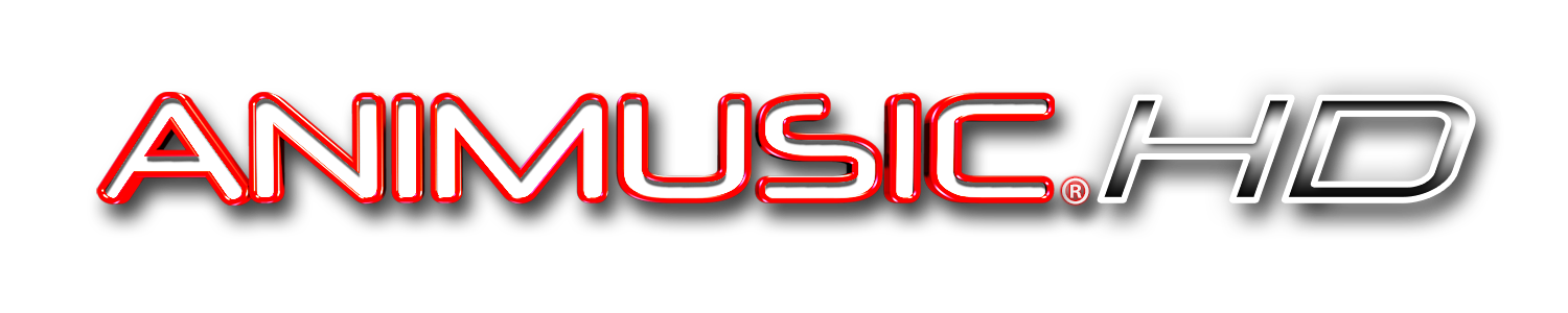 Animusic HD Logo treatment: